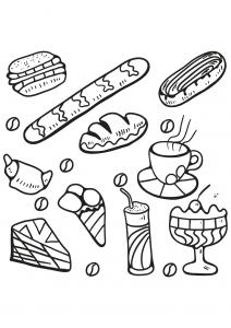 Coloriage livre gratuit cupcake 5