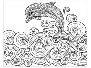 Coloriages Dauphins