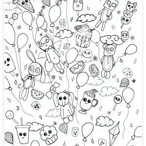 Coloriage doodle par chloe