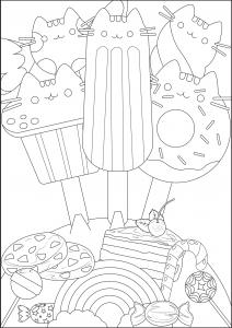Doodles Coloriages Difficiles Pour Adultes