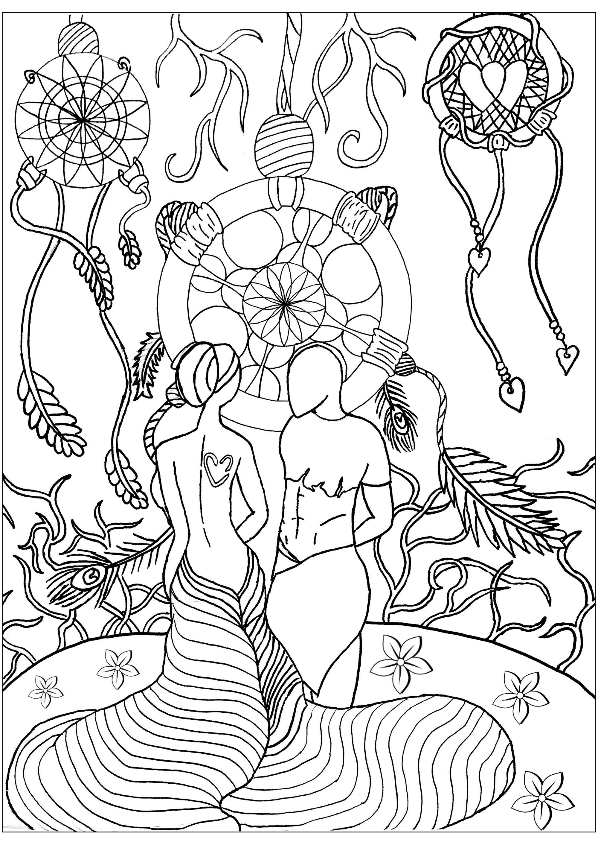 Les amoureux du monde des Attrape-Rêves
