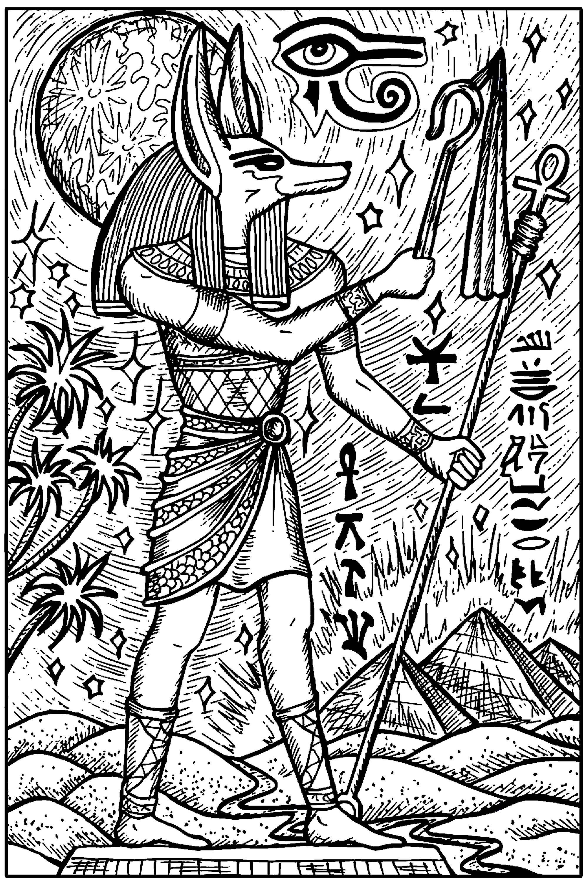 Anubis, Dieu de l'Egypte Ancienne