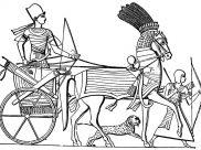 Coloriages Egypte et Hiéroglyphes