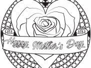 Coloriages Fête des mères