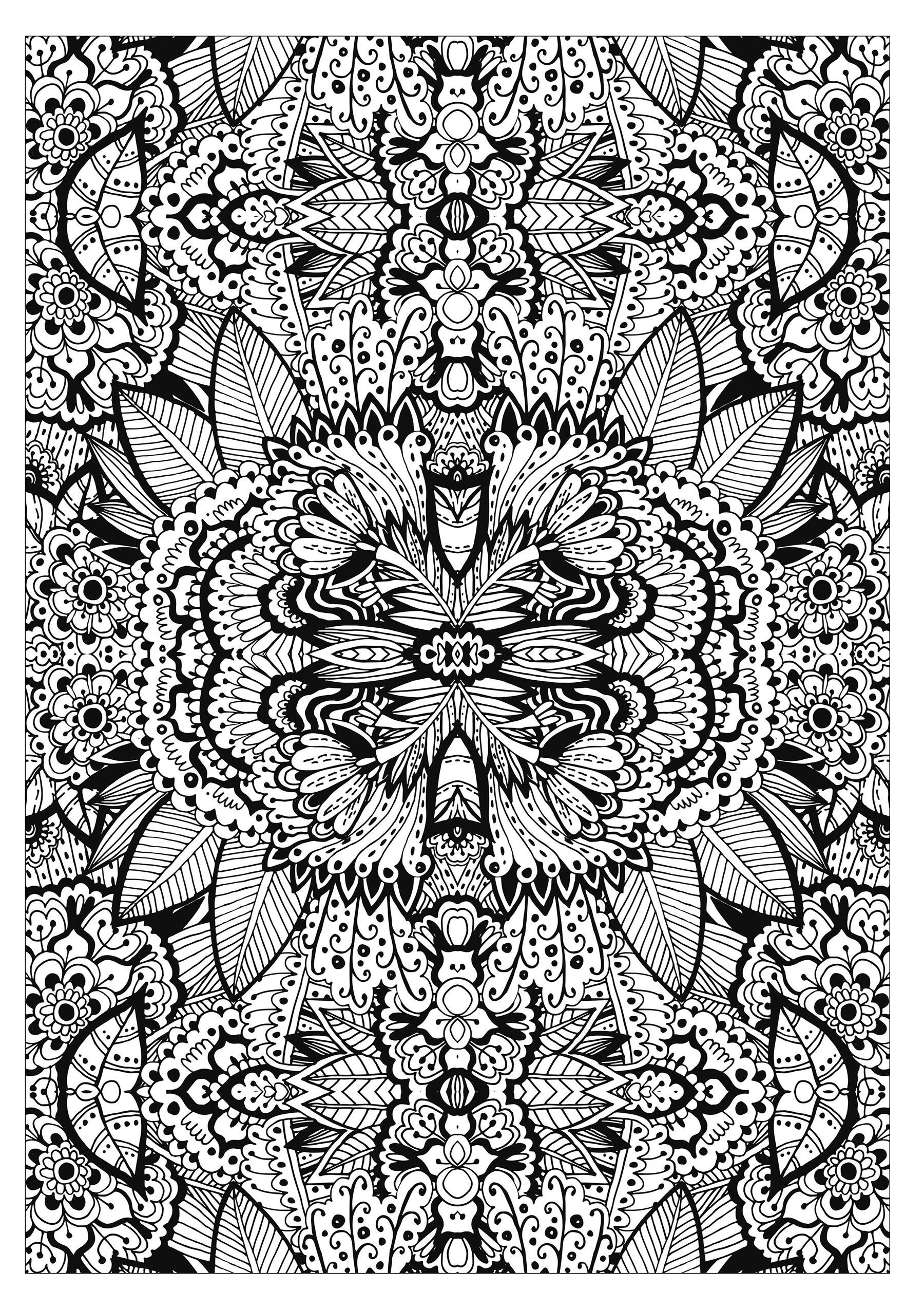 tapis de fleurs tres complexe fleurs et v g tation. Black Bedroom Furniture Sets. Home Design Ideas