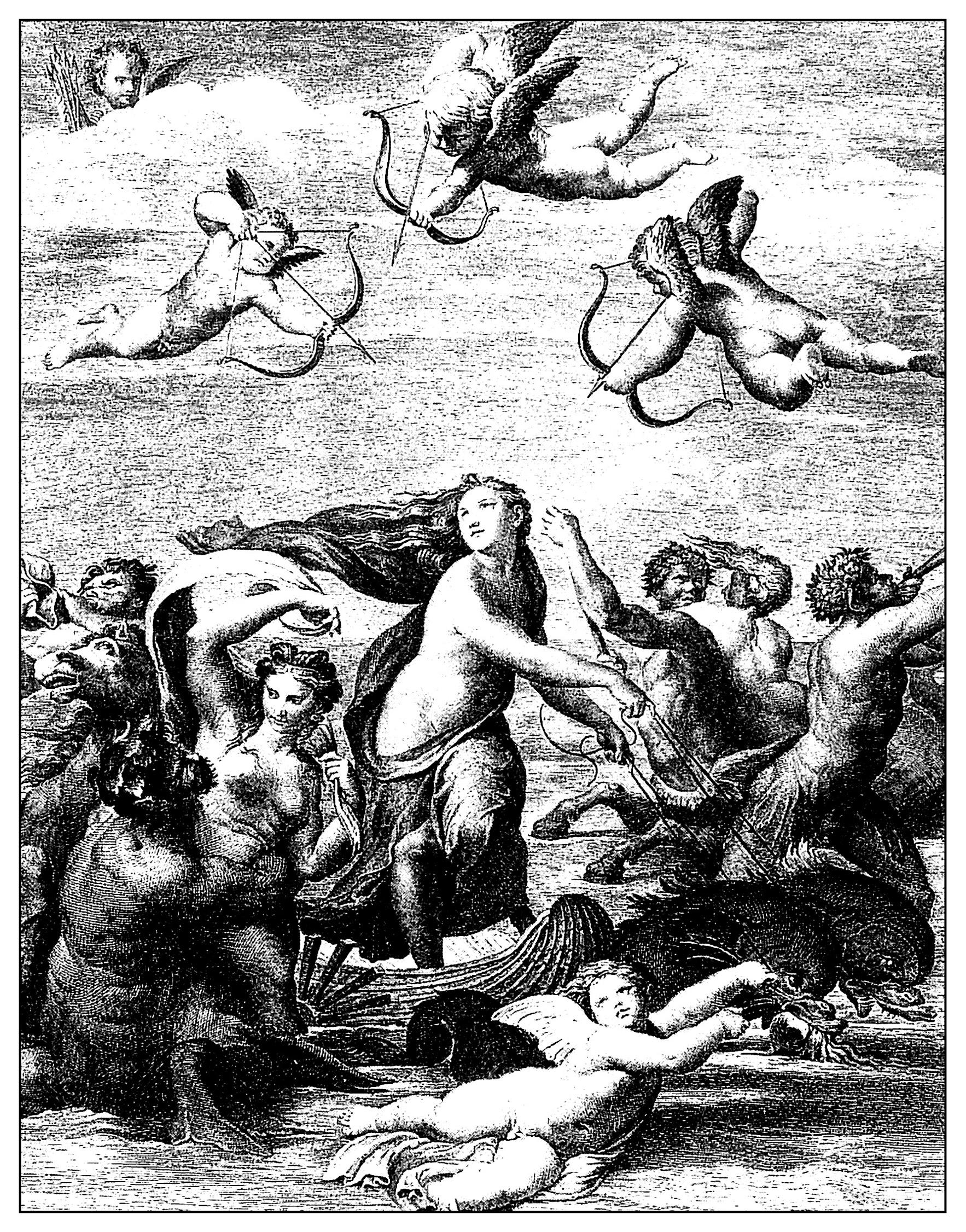 Gravure de Domenico Cunego (1771)