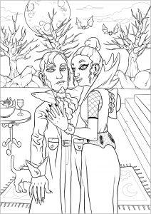 Couple de vampires   version complète