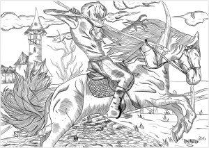 Le chevalier à la tête de citrouille