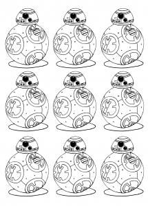 coloriage-adulte-bb-8-star-wars-7-reveil-de-la-force free to print