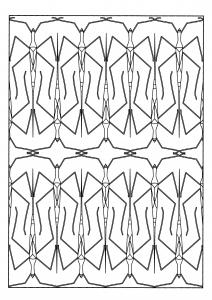 coloriage-adulte-animaux-phasmes free to print