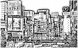 Coloriage a imprimer tokyo
