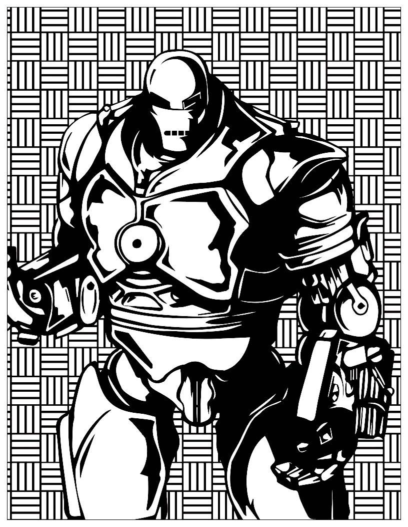 Série Les méchants de Marvel : Iron Monger