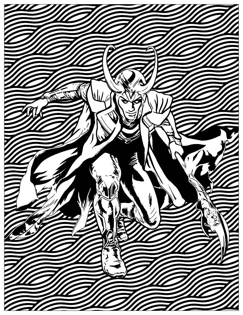 Série Les méchants de Marvel : Loki