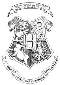 Harry Potter : Emblème de Poudlard
