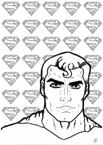 Coloriage superman