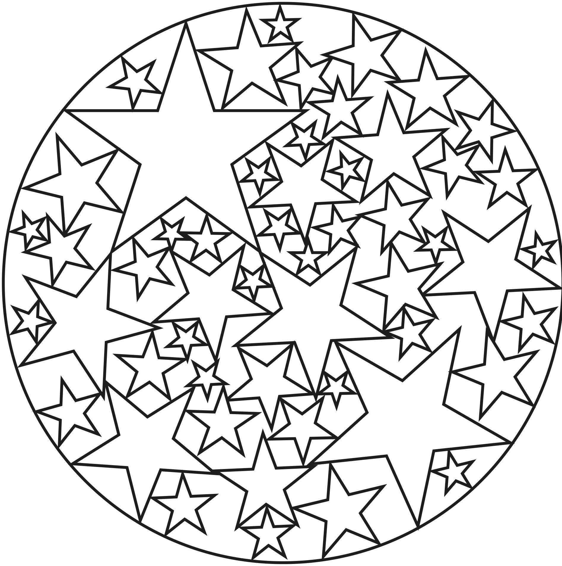 Starball   A partir de la galerie : Mandalas   Artiste : Jim