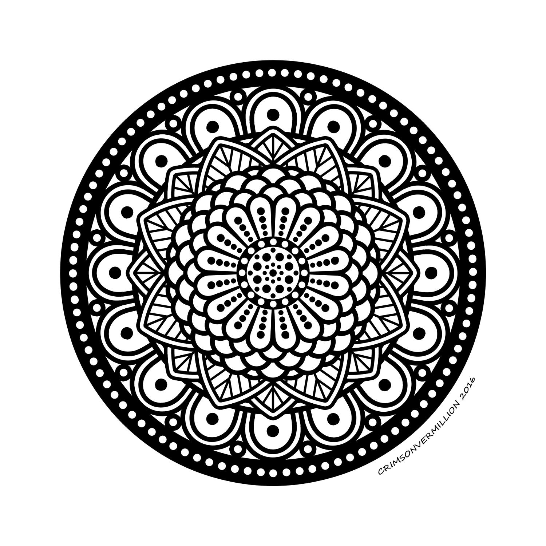 L'écho de ces sphères résonne au coeur de ce mandala.