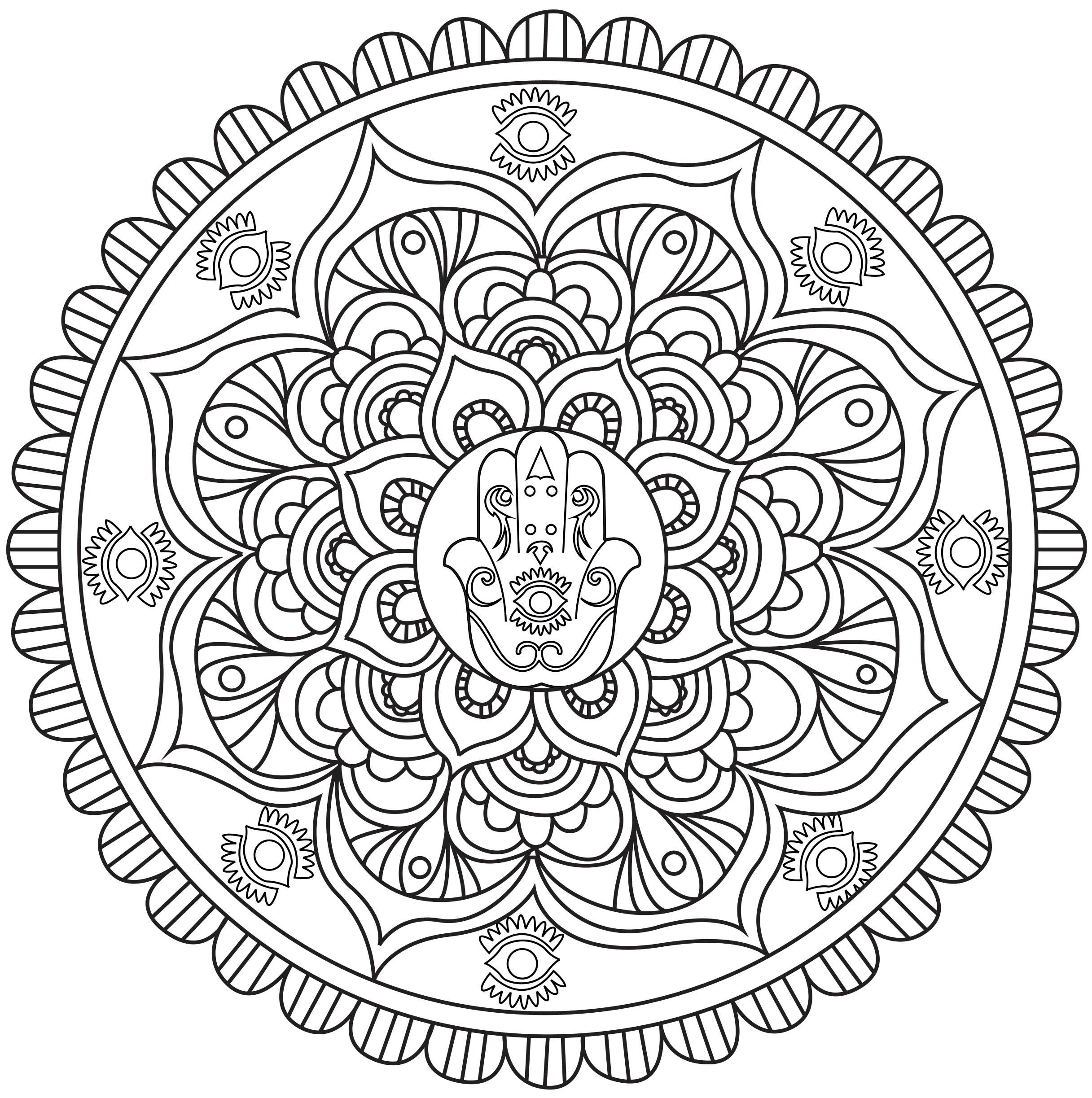 La main de Fatma est une amulette protégeant contre le mauvais oeil. Ce n'est pas un symbole religieux : chaque culture y a associé une symbolique différente.