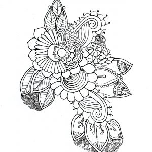 Coloriage mandala par chloe