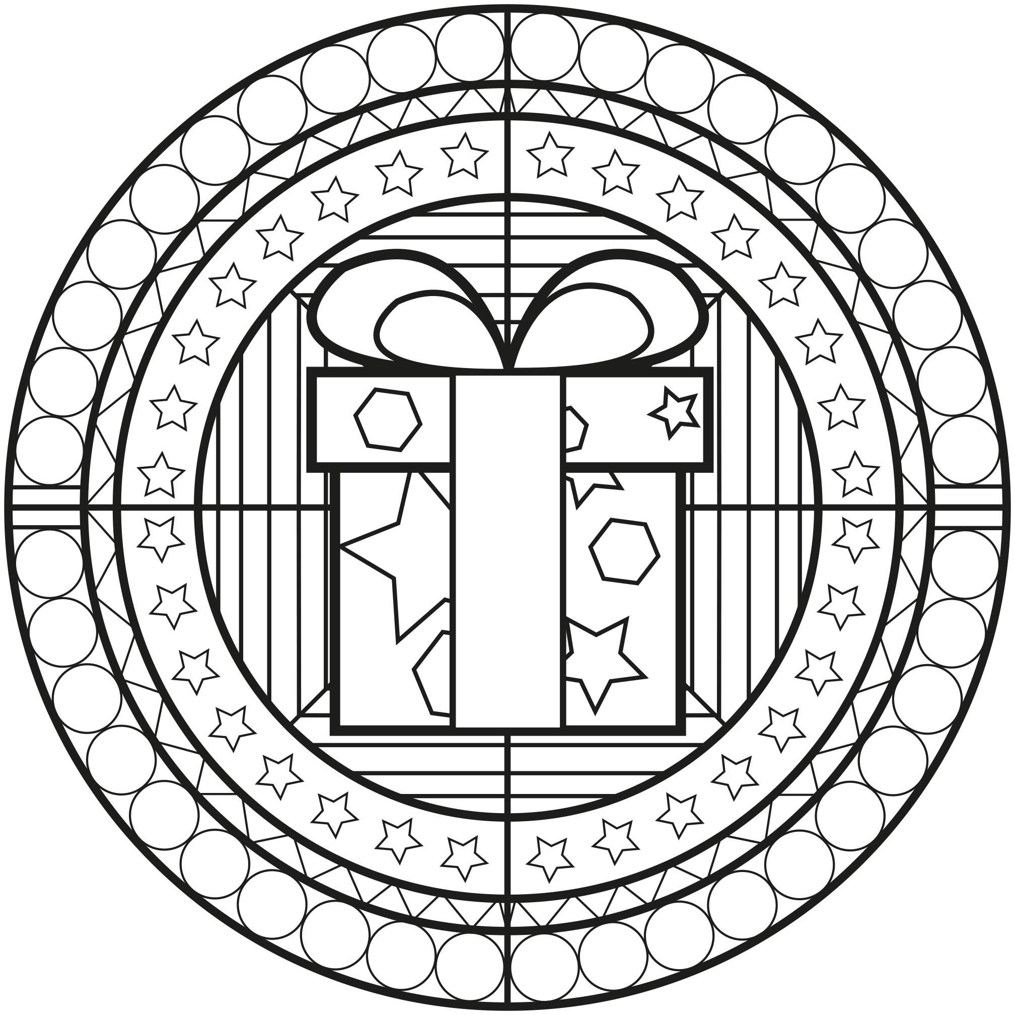 Coloriage De Noel à Imprimer Gratuit Mandala : mandala noel2 mandalas coloriages difficiles pour adultes ~ Pogadajmy.info Styles, Décorations et Voitures