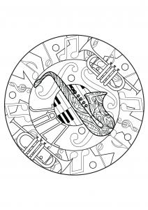 Mandala harmonieux de Jazz