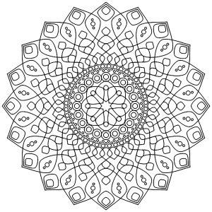 Un Mandala très apaisant