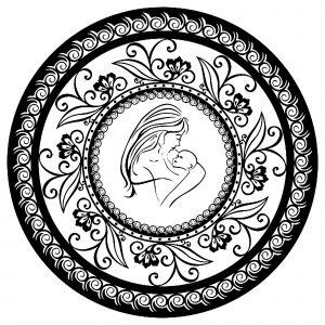 Mandala Fête des mères