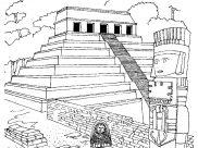 Coloriages Mayas, Aztèques et Incas