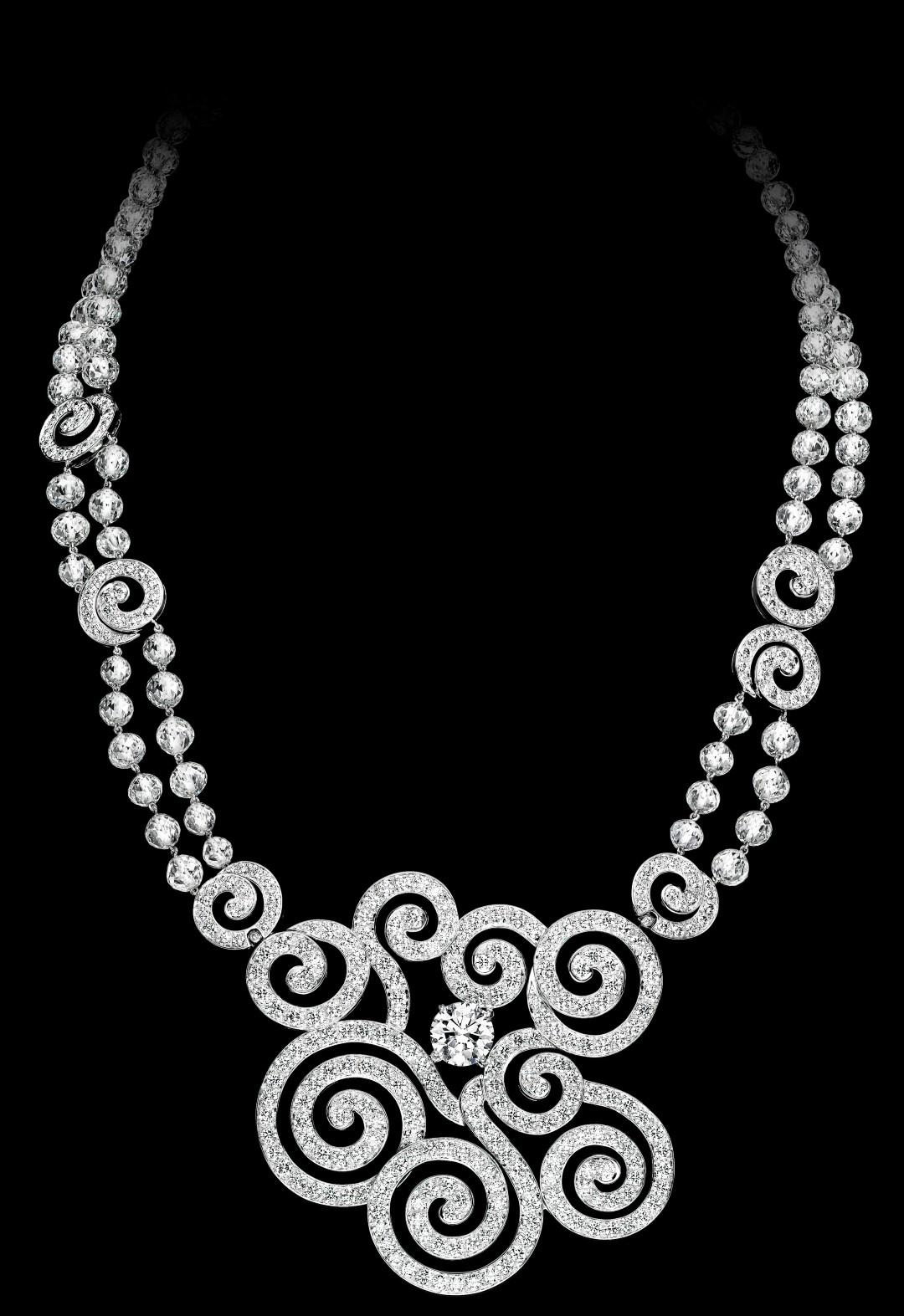 Un autre magnifique collier de diamants, à colorier