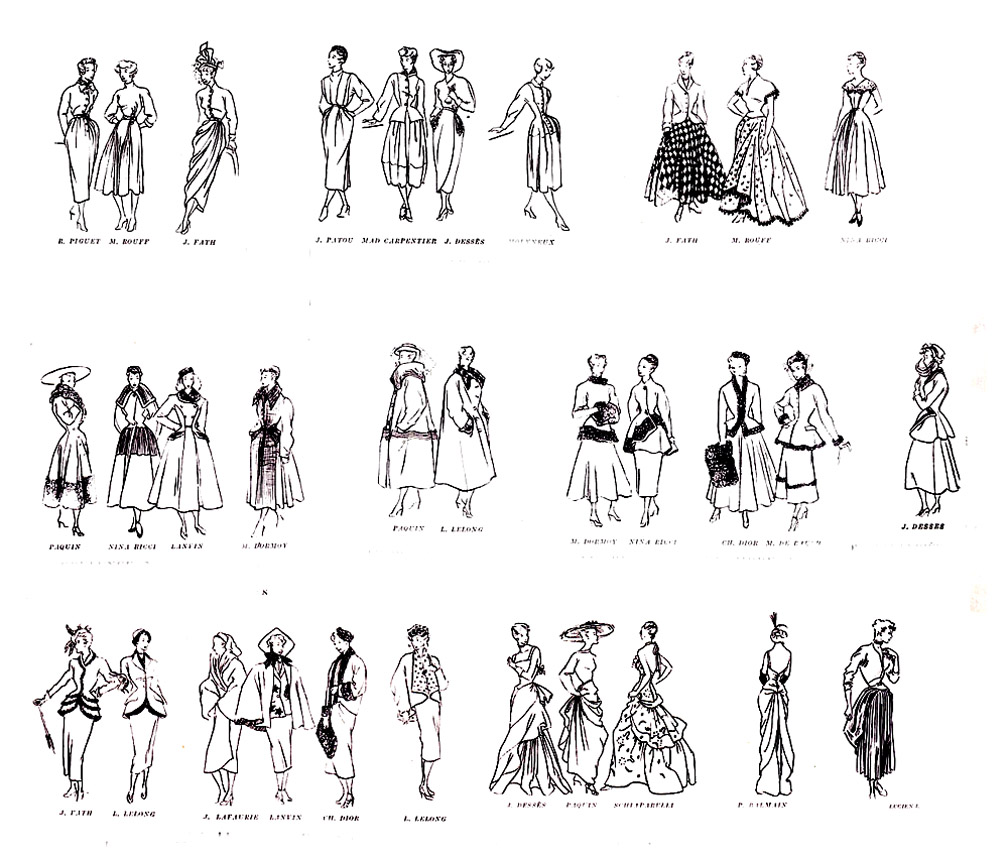image=modes et vetements coloriage adulte croquis mode 1947 1