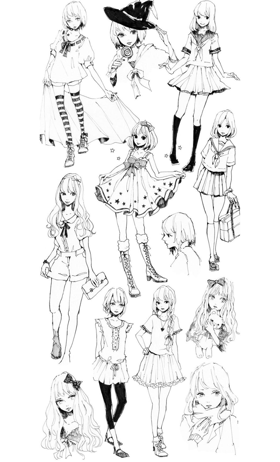 Mode vetements style mangas , Mode, vêtements et bijoux