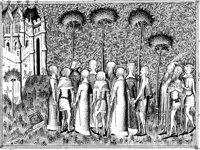 Medieval seigneurs moyen ge coloriages difficiles - Dessin moyen age ...