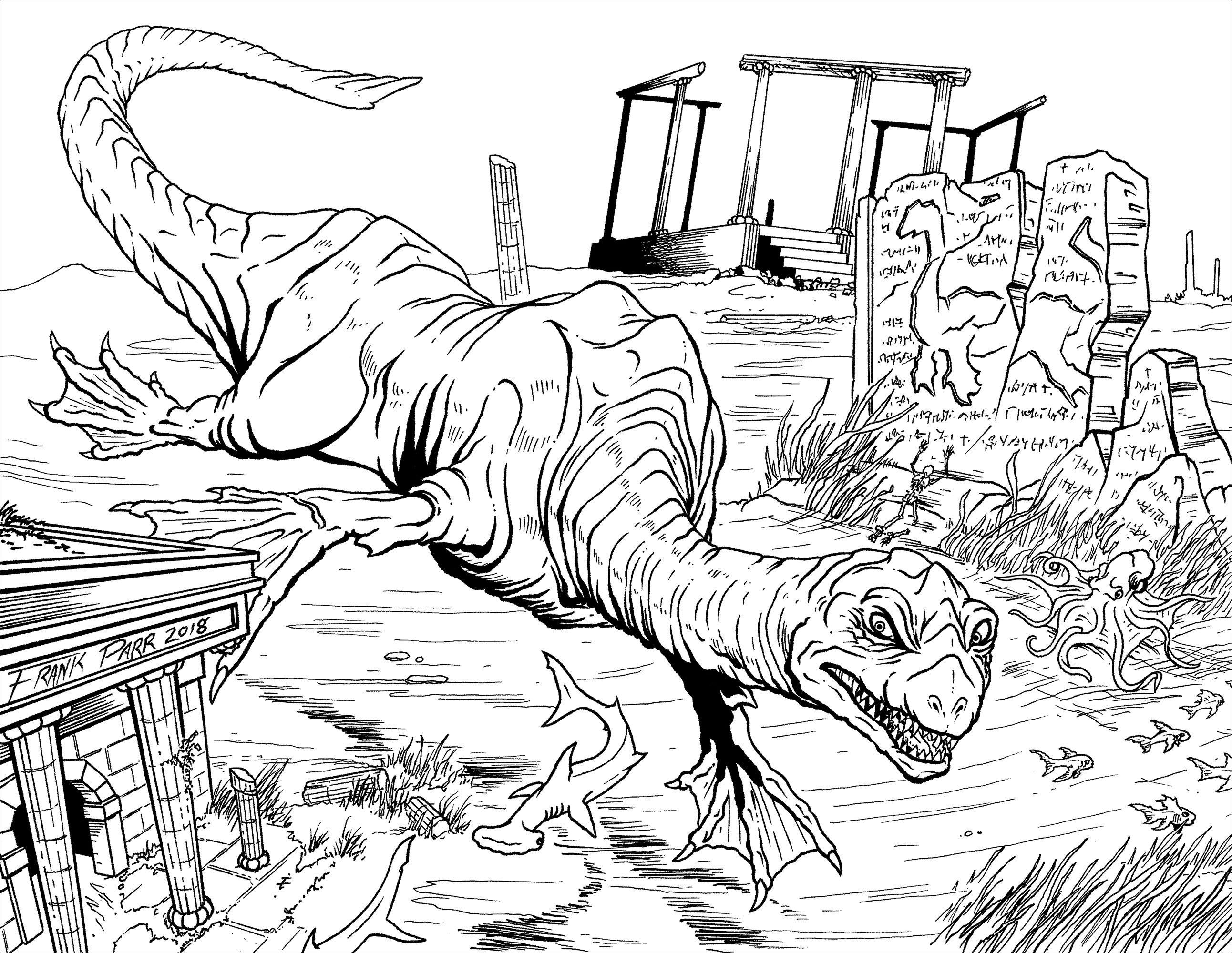 Une petite baignade avec Nessy le dinosaure, ça vous dit ?