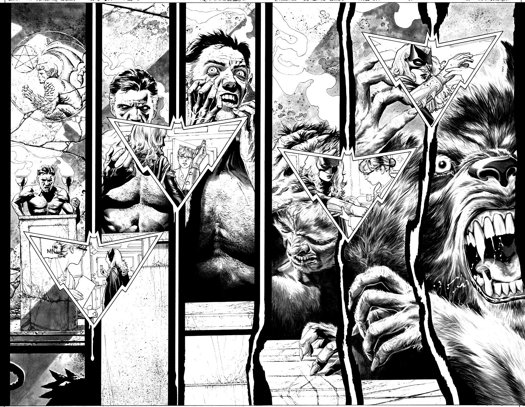 Loup Garou Comics Mythes Et Legendes Coloriages Difficiles Pour Adultes