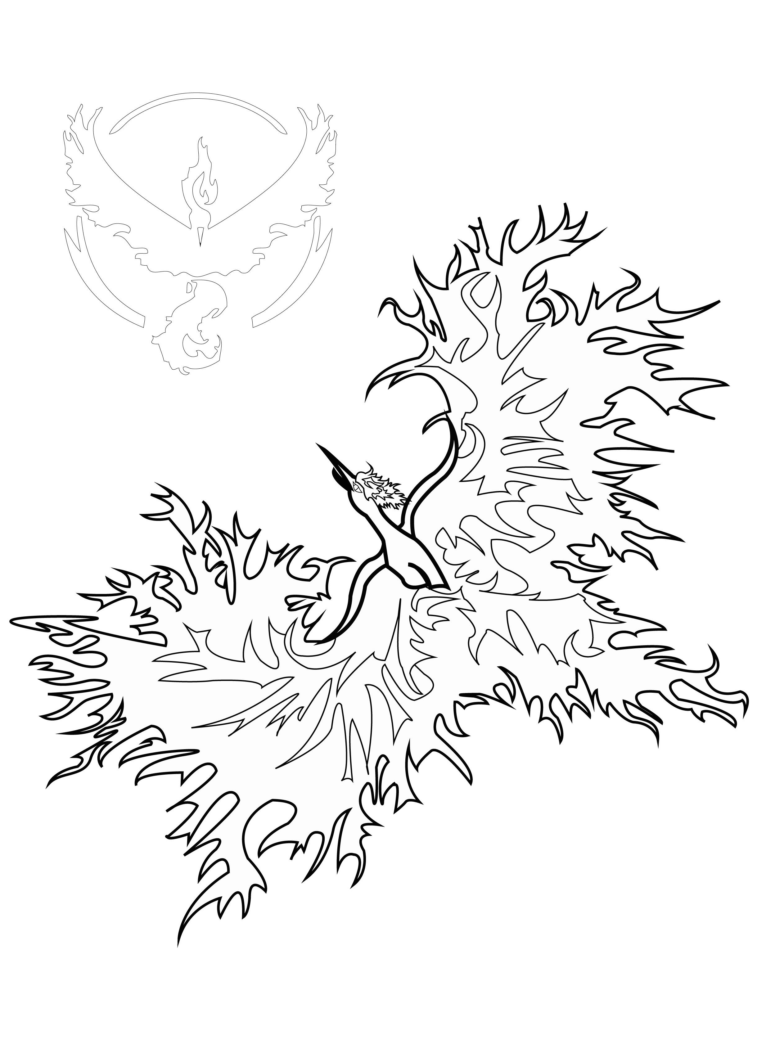 Phoenix majestueux