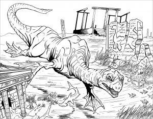 Nessy le dinosaure