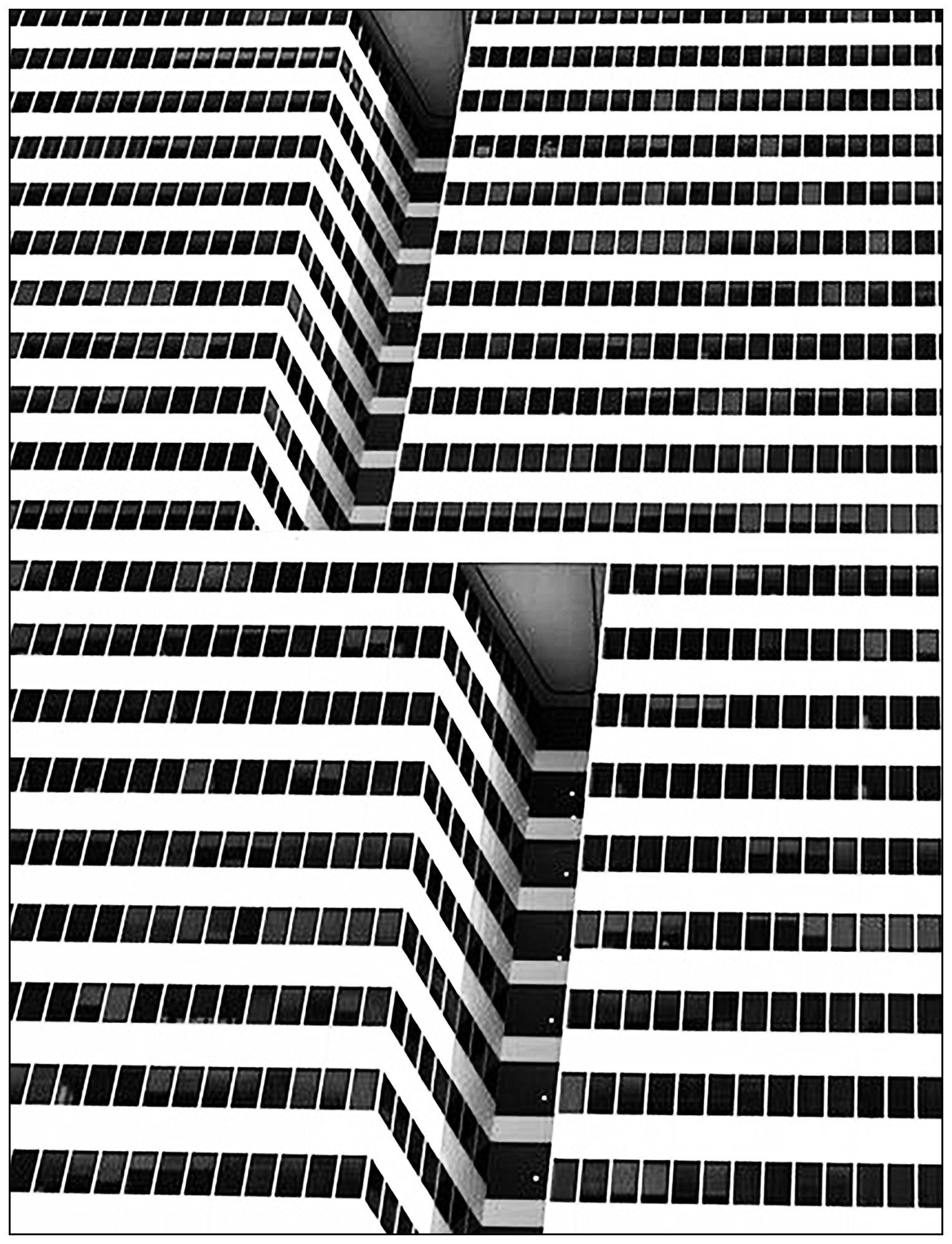 Incroyable architecture à New York (d'après une photo)