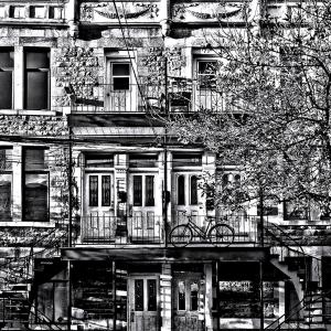 coloriage facade new york