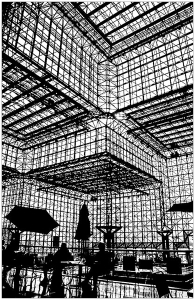 Coloriage ombres pei jacob javits center new york
