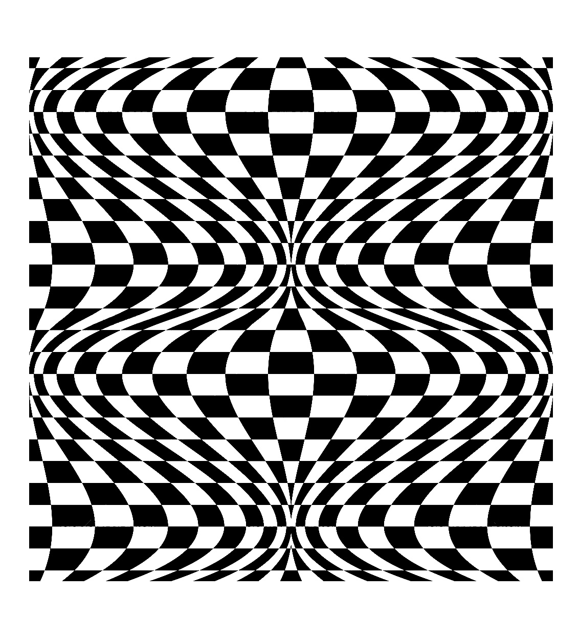 Op art illusion optique 2 art optique coloriages difficiles pour adultes - Mini coloriage illusion d optique ...
