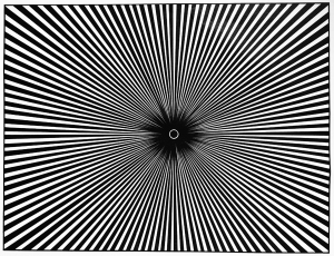 Art optique coloriages difficiles pour adultes - Illusion optique dessin ...
