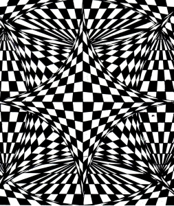 coloriage op art illusion optique sky amethyst
