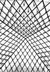 coloriage-adulte-pyramide-louvre free to print