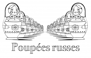 coloriage-adulte-poupees-russes-perspective-double-avec-texte free to print