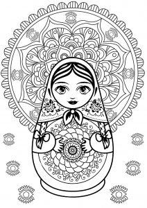 Mandala et Poupée russe