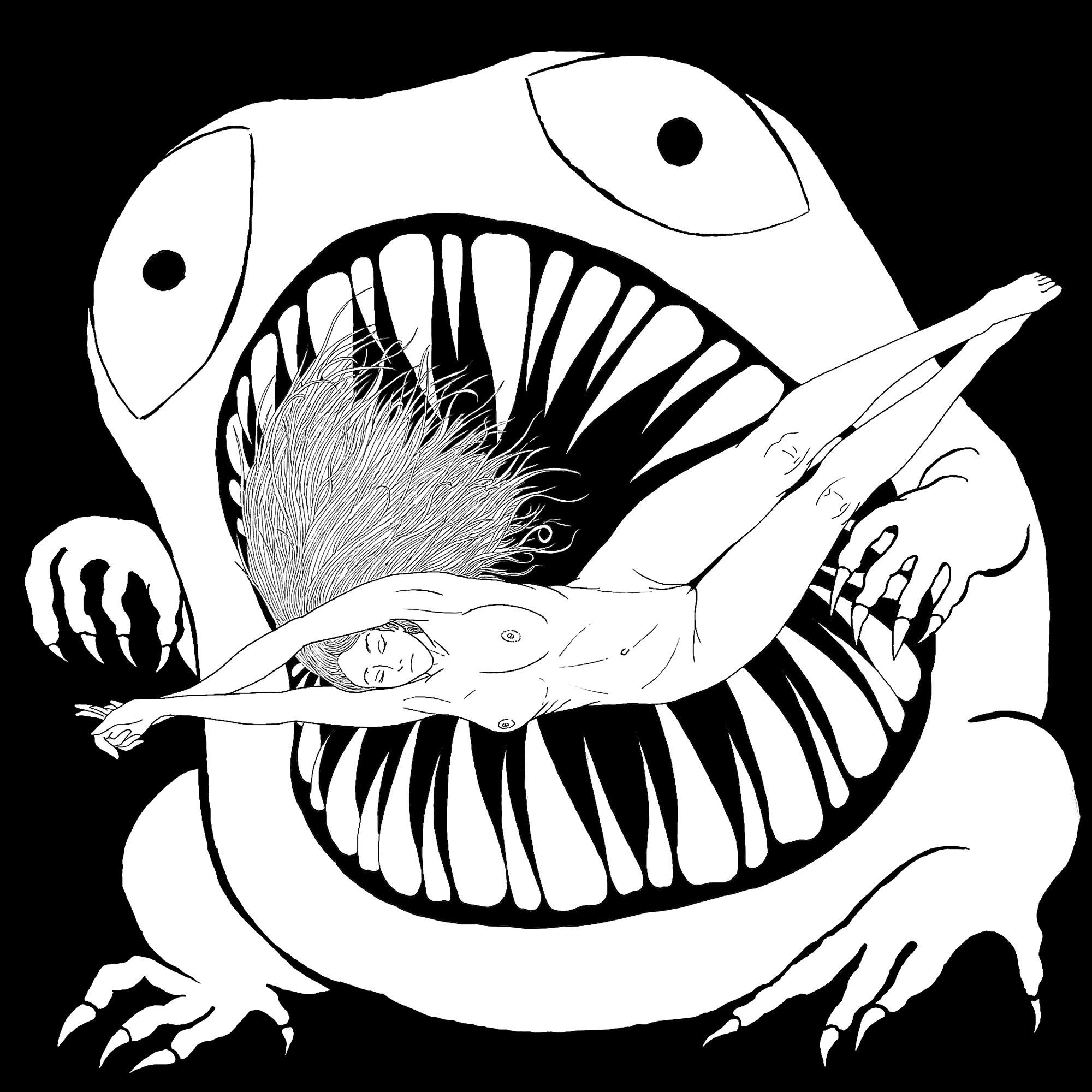 L'origine du Monstre. Plus de créations artistiques de Nasino sur Instagram