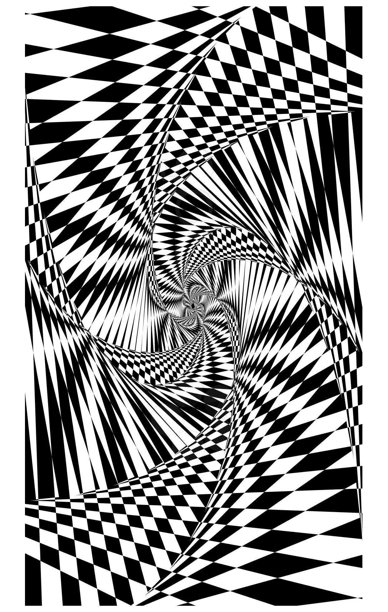 Psychedelique 1 Psych 233 D 233 Lique Coloriages Difficiles