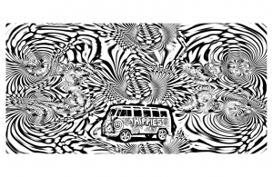 coloriage-psychedelique-4 free to print