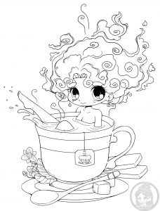 Un bain de thé