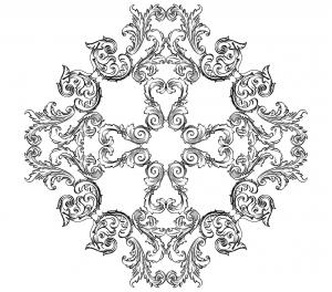 coloriage-adulte-illustration-style-royal-par-alexeii-buravtsov free to print